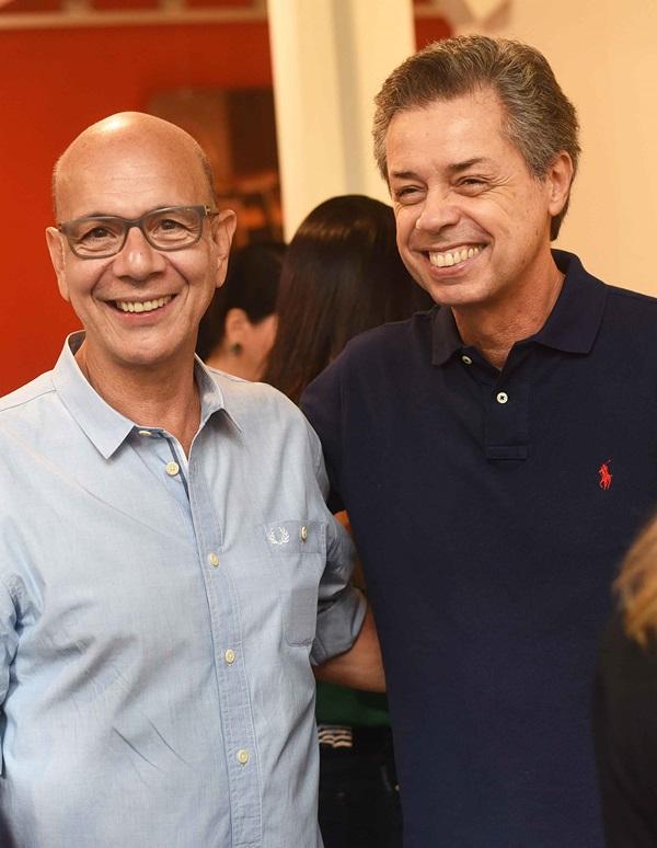 Caco Borges e Carlos Boescheinstein