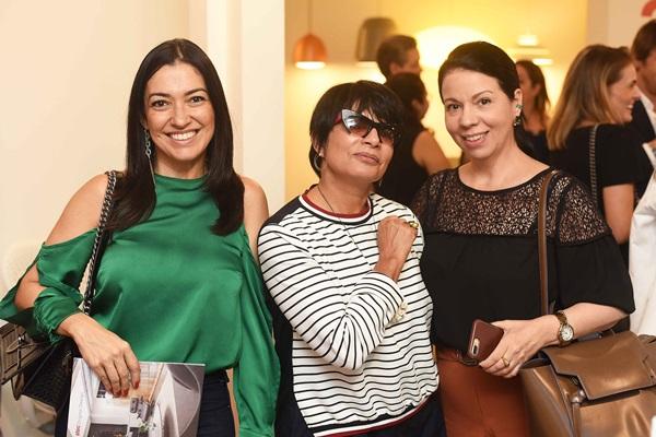 Cristina Cortes, Emmilia DIas Cardoso e Jacira Pinheiro