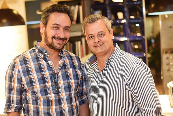 Felipe Mazzoni e Leandro Braz