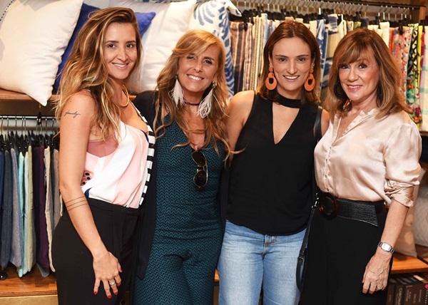 Gabriela Eloy, Patricia Hall Flavia Santoro e Eva Taquechel
