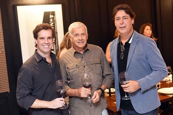 Giordano Cacciola, Renato Cacciola e Roberto Borges