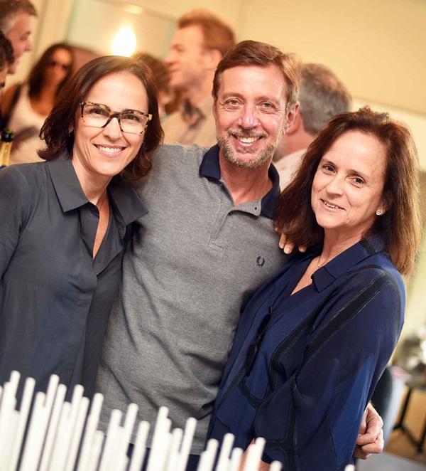 Gisele Taranto, Nando Grabowsky e Patricia Quentel