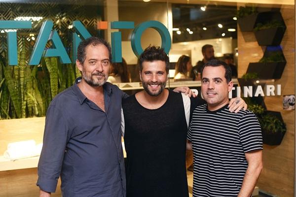 Gustavo Motte, Bruno Gagliasso e Duda Porto