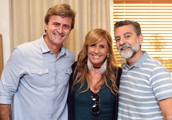 Juarez Farias, Patricia Hall e Ivan Rezende