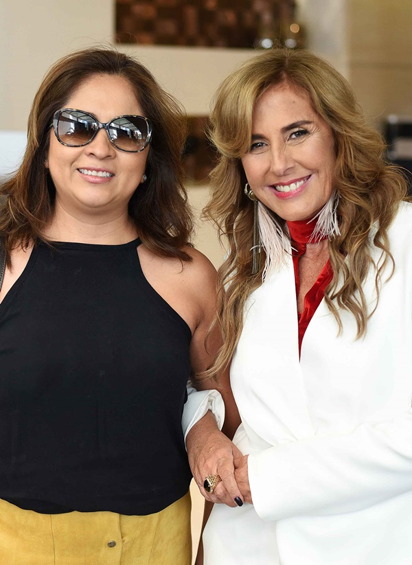 Angela Meza e Patricia Hall
