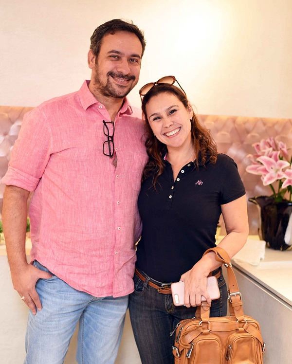 Felipe Mazzoni e Andrea Figari