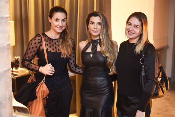 Maria Carolina, Renata Maia e Catarina Paim