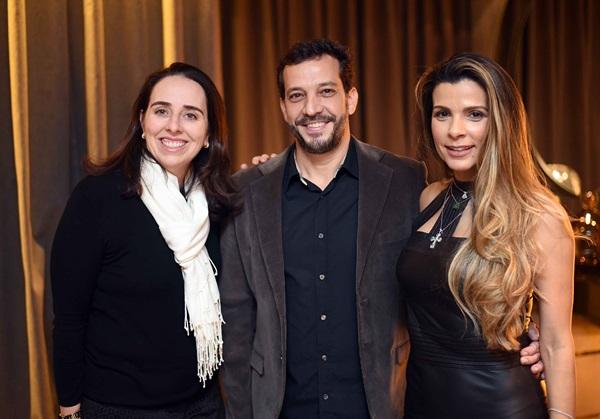 Renata Estrela, Adriano Coutinho e Renata Maia