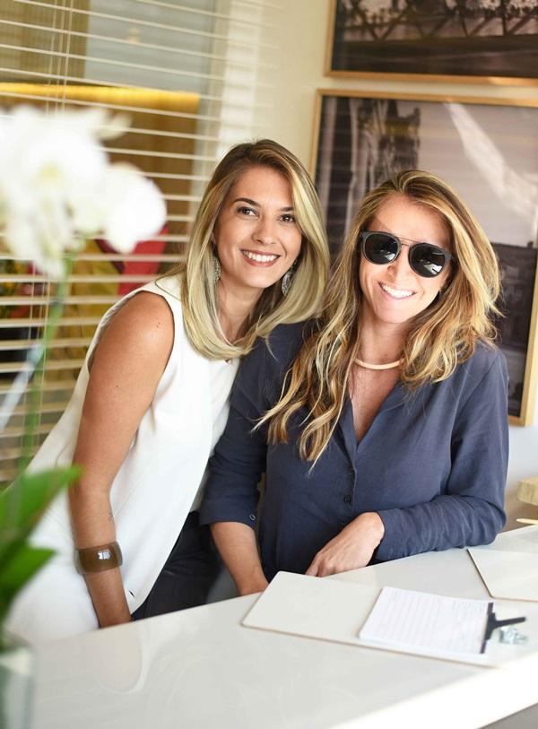 Carol Freitas e Gabriela Eloy