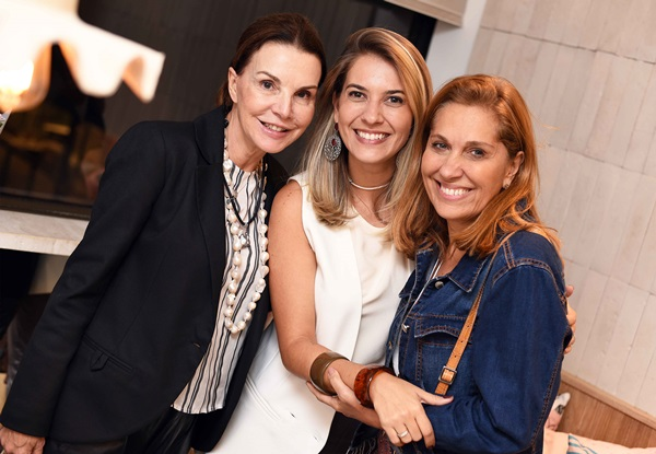 Patricia Mayer, Carol Freitas e Bebel Sampaio