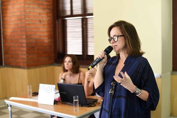 Patricia Quentel na reuniao do Casa Cor Rio