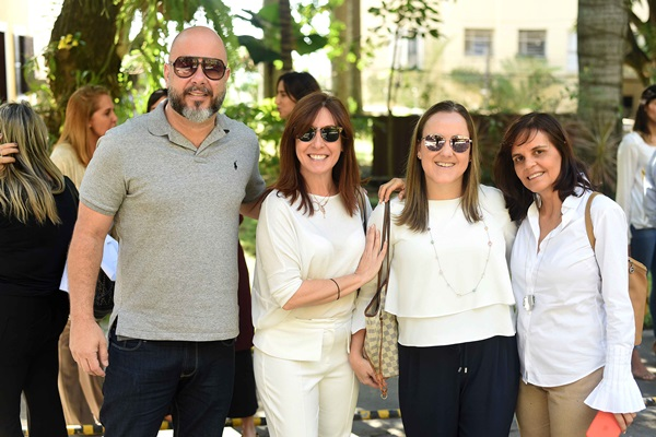 Sandro Ward, Carmen Mouro, Roberta Nicolau e Angela Falcao