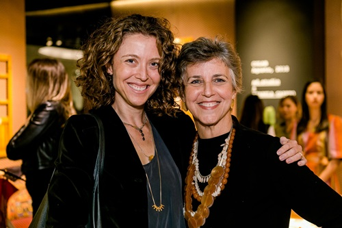 Camila Niskier e Denise Bergier