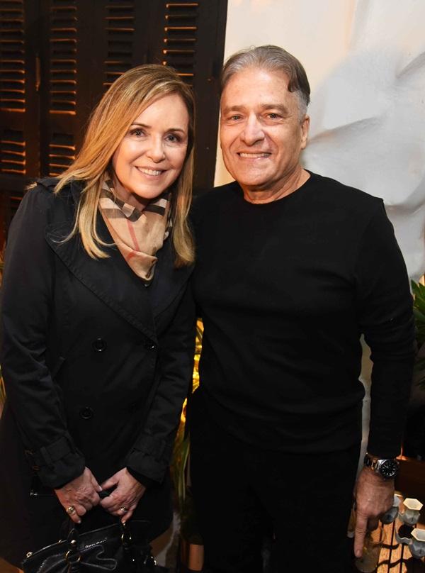 Eliane Couto e Luiz Marinho