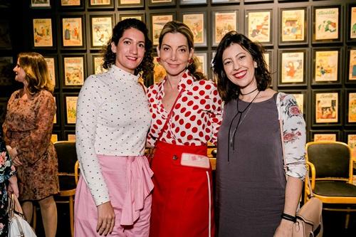 Kelly Krishna, Rios Renata Reis e Graziela Canella