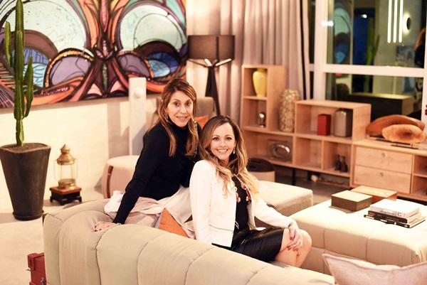 Ligia Schuback e Flavia Campos