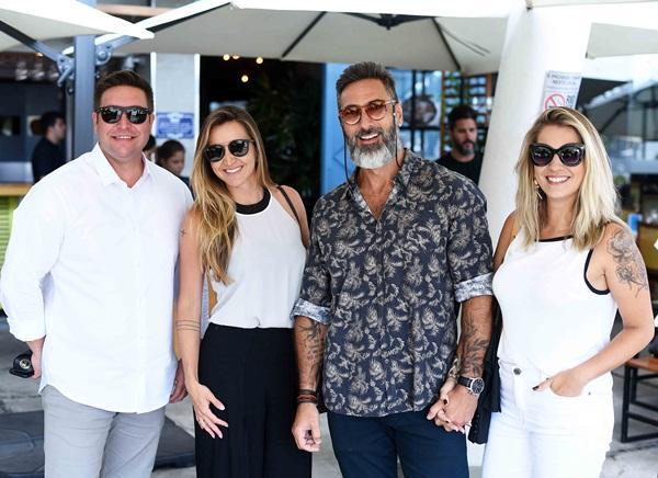 Alexandre Lobo, Gabriela Eloy, Fabio Cardoso e Carol Freitas