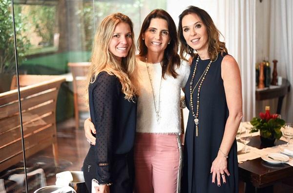 Aline Araujo, Ana Lucia Juca e Esther Schattan