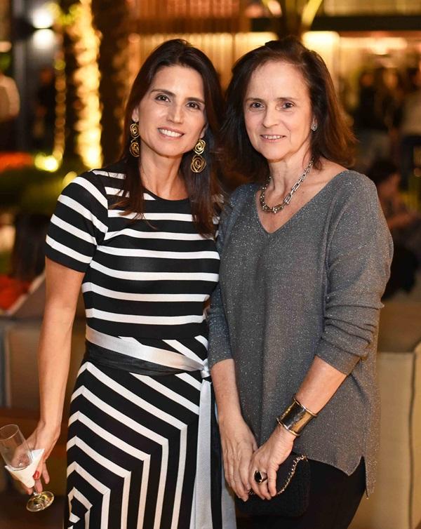 Ana Lucia Juca e Patricia Quentel