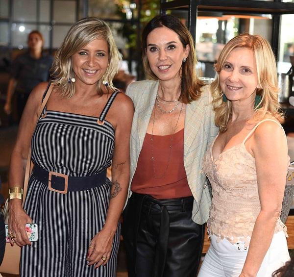 Andrea Eiras, Esther Schattan e Aurora Grei