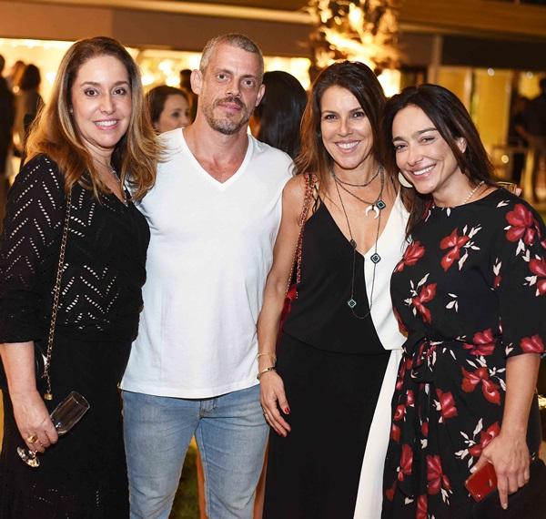 Anna Malta, Hugo Schwartz, Andrea Neves Duarte e Ana Paula Iespa