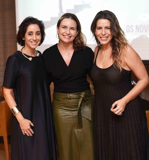 Antonia Leite Barbosa, Adriana Mattar e Luiza Bomeny