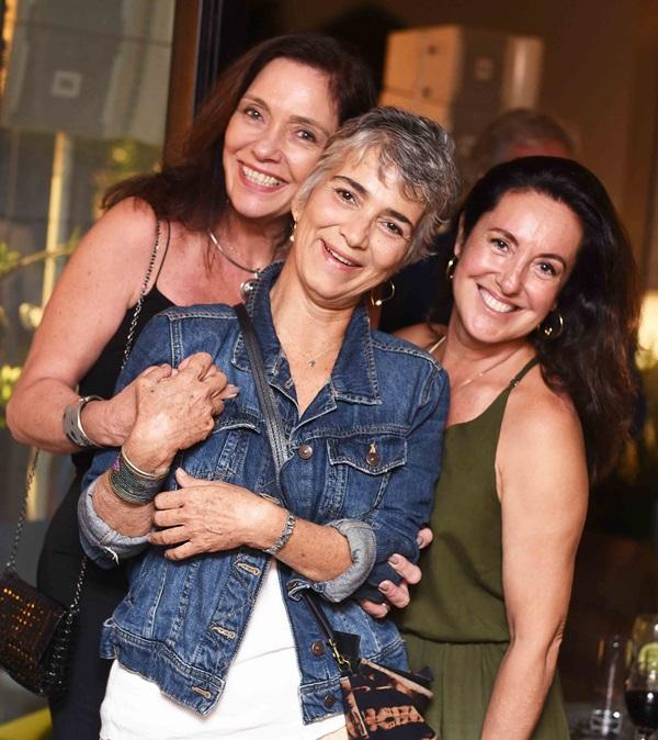 Beth Kalache, Viviane Menescal e Deborah Wilcox