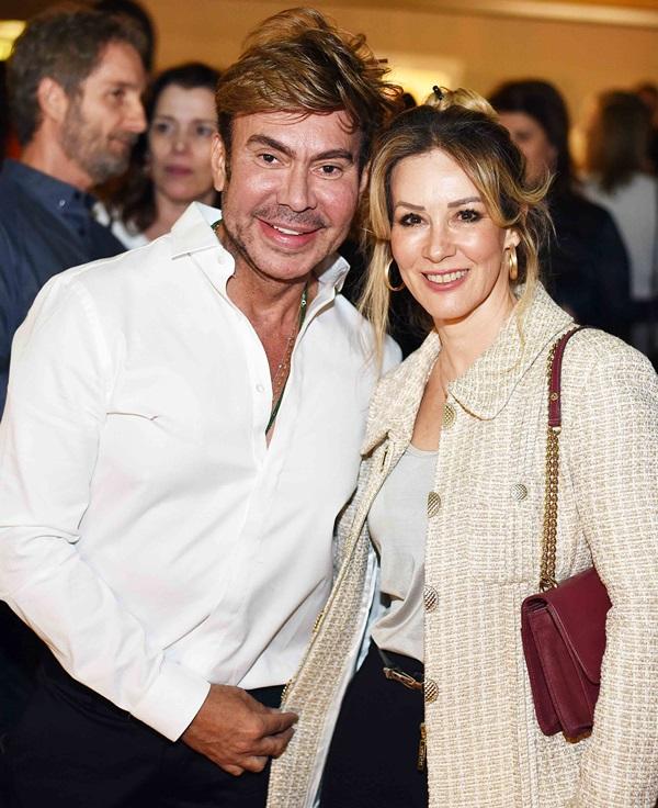 Carlos Rodeiro e Cristina Japiassu