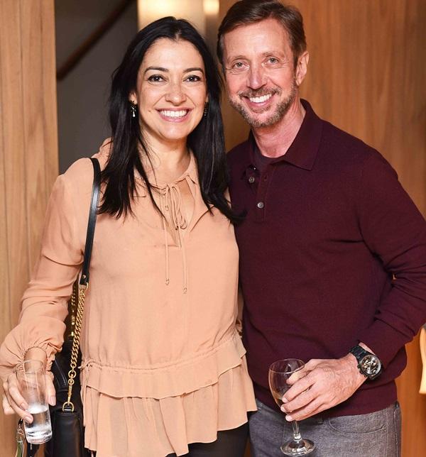 Cristina Cortes e Nando Grabowsky