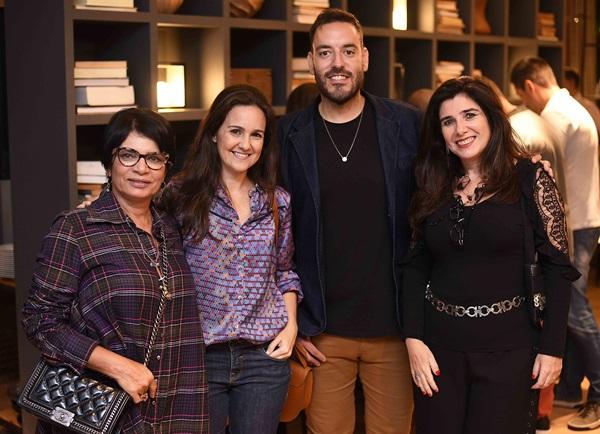 Emmilia Dias Cardoso, Lia Lamego, Rafael Ferreira e Fernanda Matarazzo