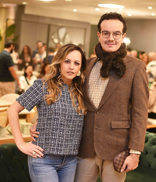 Flavia Campos e Thiago Herrera