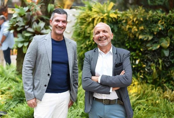 Junior Grego e Ronald Goulart