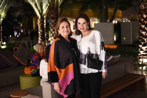 Lucinha Araujo e Patricia Mayer