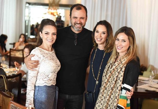 Natalia Hamada, Erick Figueir de Mello, Esther Schattan e Anny Meisler