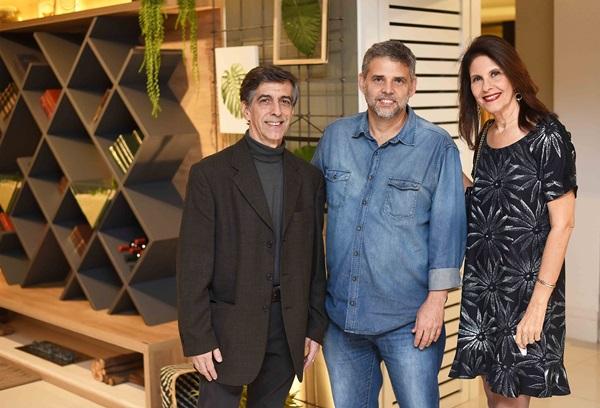 Sergio Paranhos, Dario Sarmento e Lilian Campos
