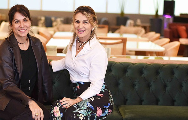 Simone Meira e Natalia Paes
