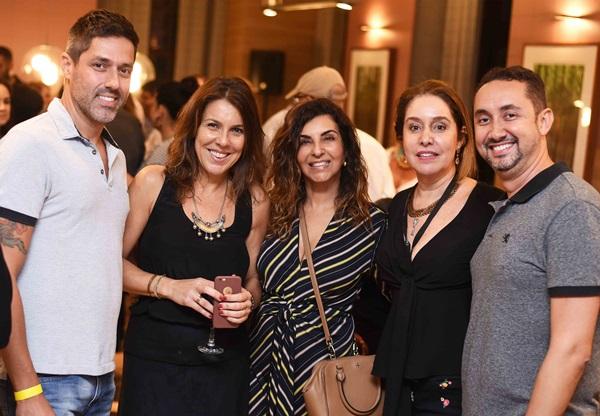 Zeca Rodarte, Andrea Neves Duarte, Lenora Lohrisch, Anna Malta e Emerson Araujo
