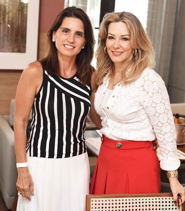Ana Lucia Juca e Cristina Japiassu