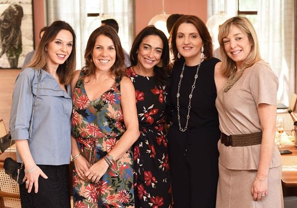 Esther Schattan, Andrea Neves, Duarte Ana Paula Iespa ,Simone Orlean e Anette Rivkind