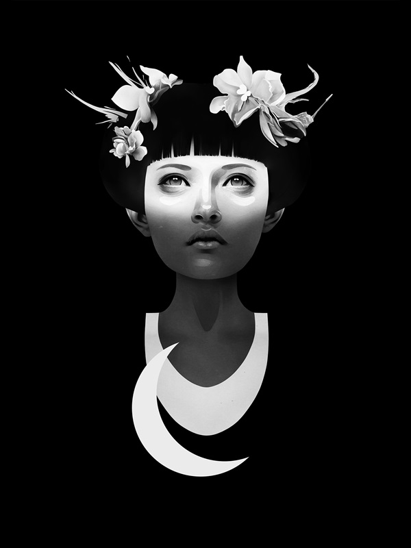 Ilustração do artista holandês Ruben Ireland _ HYPERDUSK