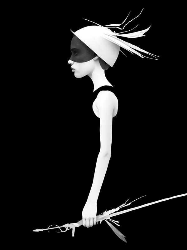 Ilustração do artista holandês Ruben Ireland _ foto 6