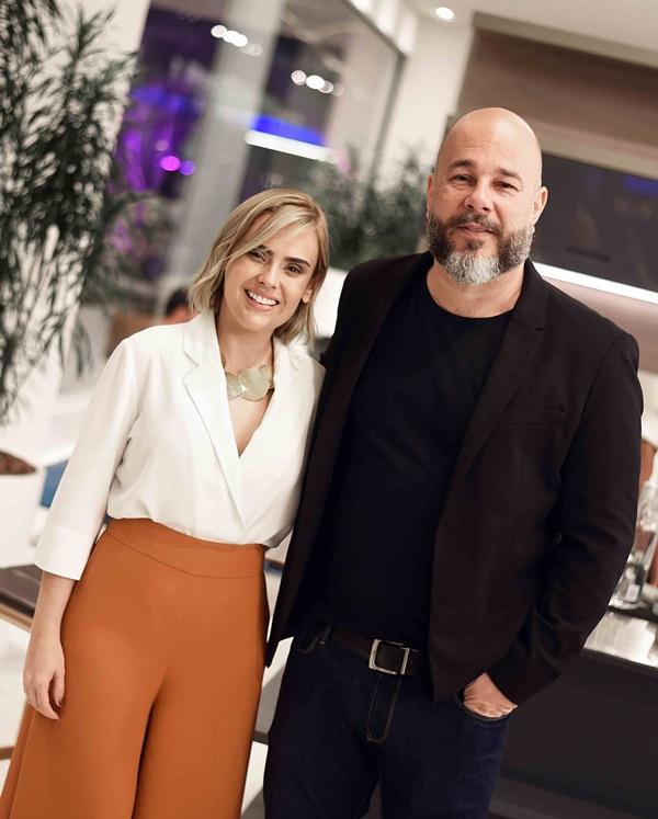 Mariana Sobreira e Sandro Ward