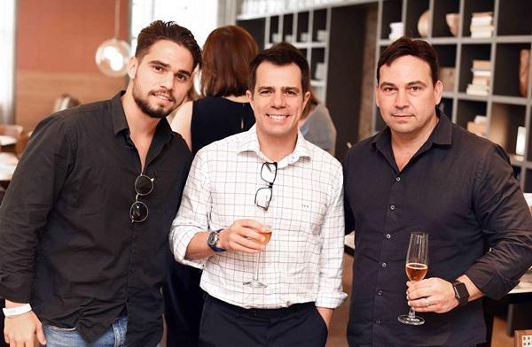 Mateus Pinheiro, Luis Fernando Amorim e Matias Pinheiro