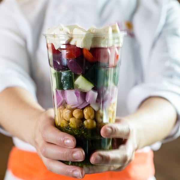 Salada de pote Deli Delcia