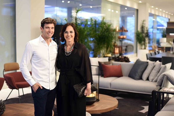 Tiago Nogueira e Gisele Taranto