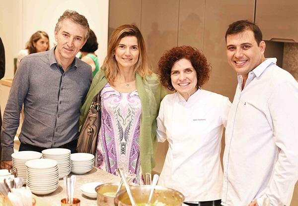 Aurelio Nogueira, Flavia Marcolini, Flavia Quaresma e Clovis Alvarenga