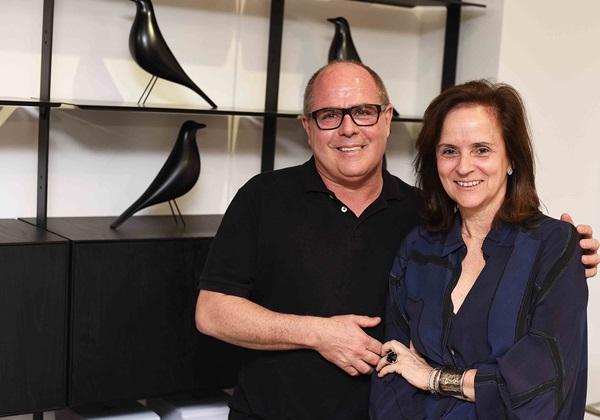 Ecio Cordeiro de Mello e Patricia Quentel