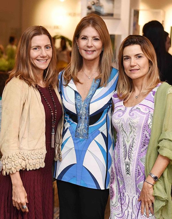 Fernanda Marcolini, Eliana Pazzini e Flavia Marcolini