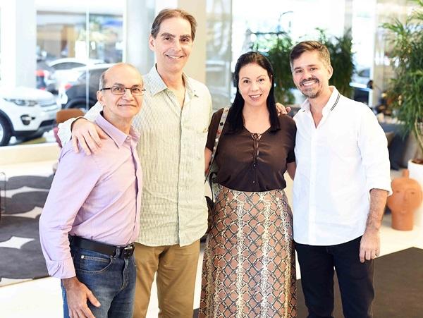 Francisco Viann, Guido Sant´anna, Jacira Pinheiro e Ricardo Melo