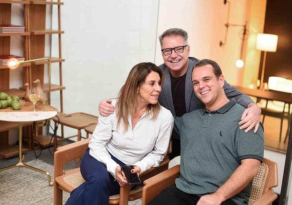 Ligia Schuback, Joao Caetano e Helio Szalay